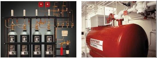 Karbondioksit (CO2) Gazlı Yangın Söndürme Sistemi